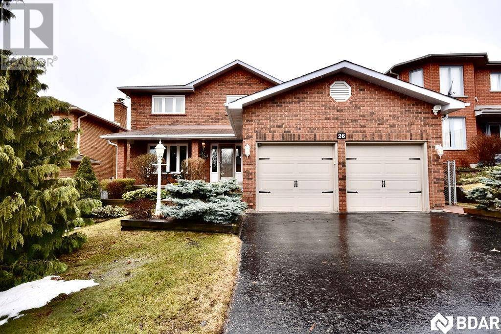House for sale at 26 Thackeray Cres Barrie Ontario - MLS: 30800788
