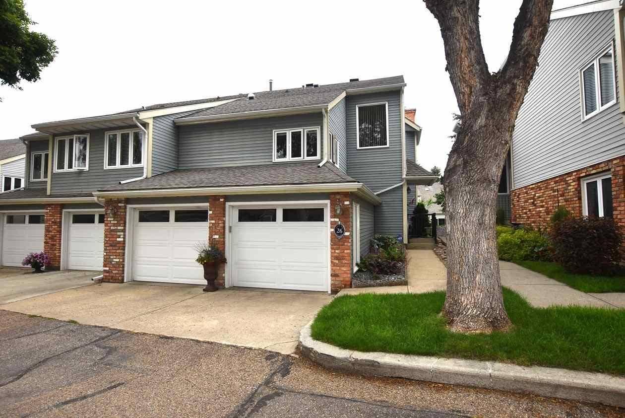 Townhouse for sale at 26 Whiteoaks Es  St. Albert Alberta - MLS: E4165459