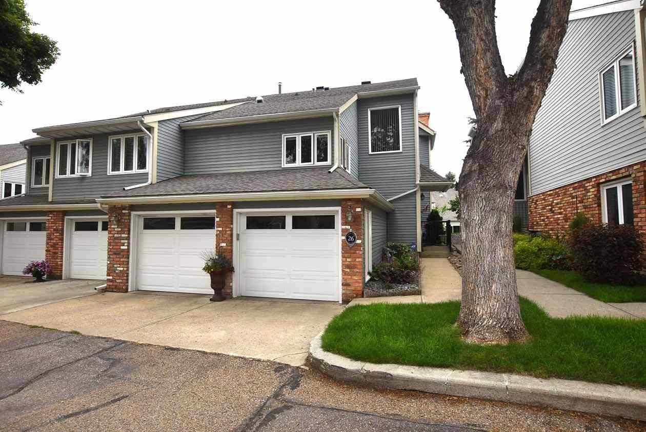 Townhouse for sale at 26 Whiteoaks Es  St. Albert Alberta - MLS: E4183337