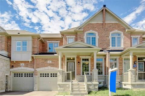 Townhouse for sale at 26 William Berczy Blvd Markham Ontario - MLS: N4554596