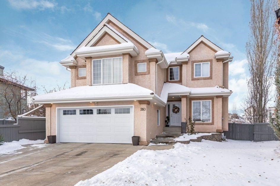 House for sale at 260 Darlington Cr NW Edmonton Alberta - MLS: E4221042