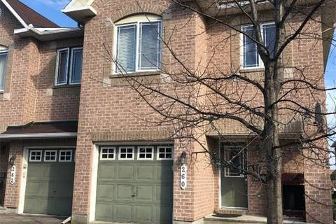 Townhouse for sale at 260 Serena Wy Ottawa Ontario - MLS: 1148305