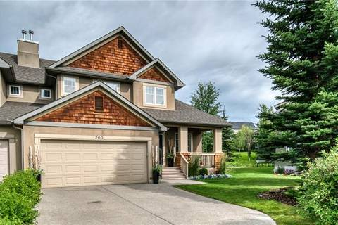 Townhouse for sale at 260 Whispering Water Wy Rural Rocky View County Alberta - MLS: C4293670