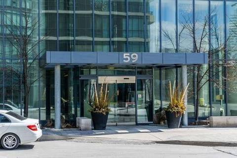 Apartment for rent at 59 Annie Craig Dr Unit 2601 Toronto Ontario - MLS: W4422265