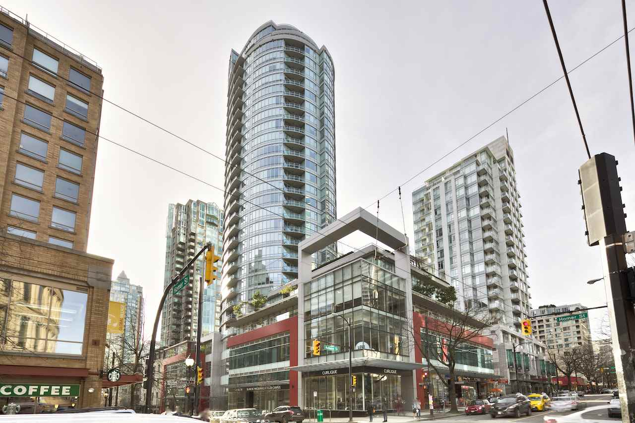 For Sale: 2601 - 833 Homer Street, Vancouver, BC   1 Bed, 1 Bath Condo for $790,000. See 18 photos!