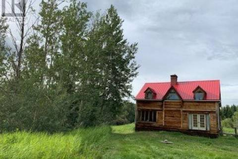 House for sale at 2601 Calliou Rd Chetwynd British Columbia - MLS: 178690