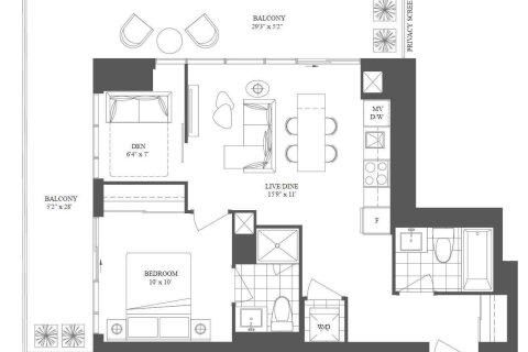 Condo for sale at 10 Silver Moon Dr Unit 2602 Toronto Ontario - MLS: W5002172