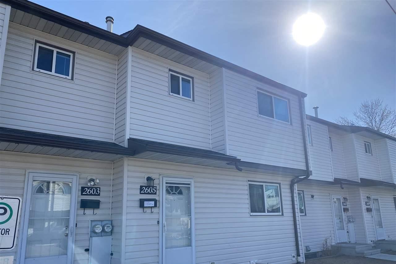 Townhouse for sale at 2605 135 Av NW Edmonton Alberta - MLS: E4225412