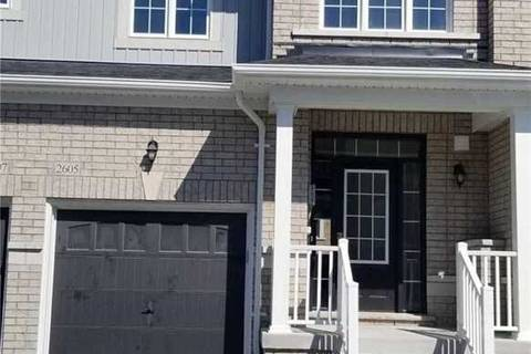 Townhouse for rent at 2605 Cerise Manor Ct Pickering Ontario - MLS: E4494506