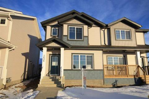 Townhouse for sale at 2606 19a Ave Nw Edmonton Alberta - MLS: E4155844