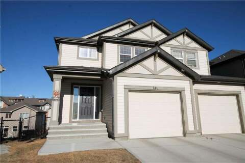 Townhouse for sale at 261 Sunset Common Cochrane Alberta - MLS: C4300068