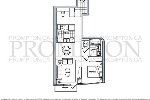 Apartment for rent at 11 Brunel Ct Unit 2611 Toronto Ontario - MLS: C4424436