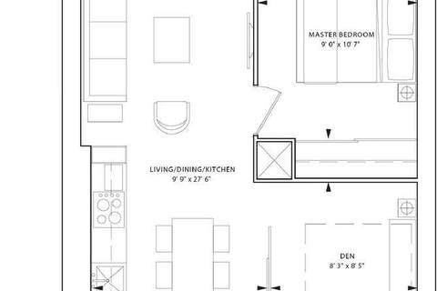 Apartment for rent at 85 Wood St Unit 2611 Toronto Ontario - MLS: C4495725