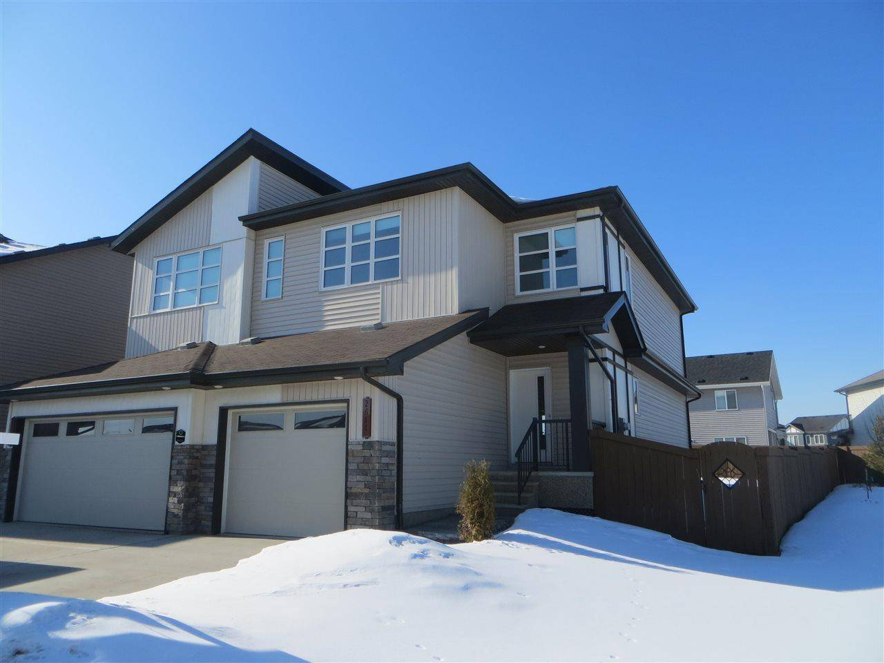 Townhouse for sale at 2611 Casey Wy Sw Edmonton Alberta - MLS: E4186270
