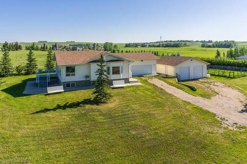 House for sale at 261202 Valley View Rd Rural Rocky View County Alberta - MLS: C4263063