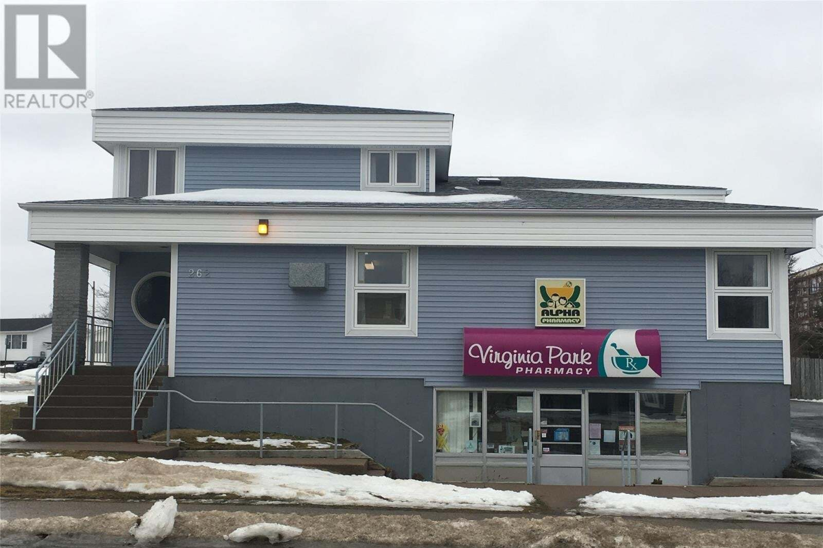 Commercial property for sale at 262 Newfoundland Dr St. John's Newfoundland - MLS: 1215967