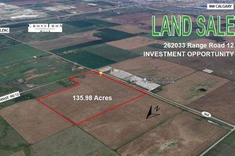 Residential property for sale at 262033 Rge Rd 12  Balzac Alberta - MLS: C4289013