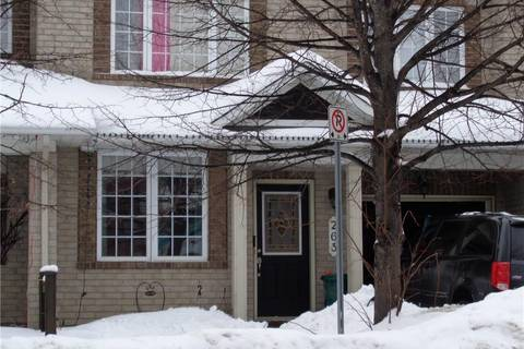 Townhouse for sale at 263 Cresthaven Dr Ottawa Ontario - MLS: 1141051