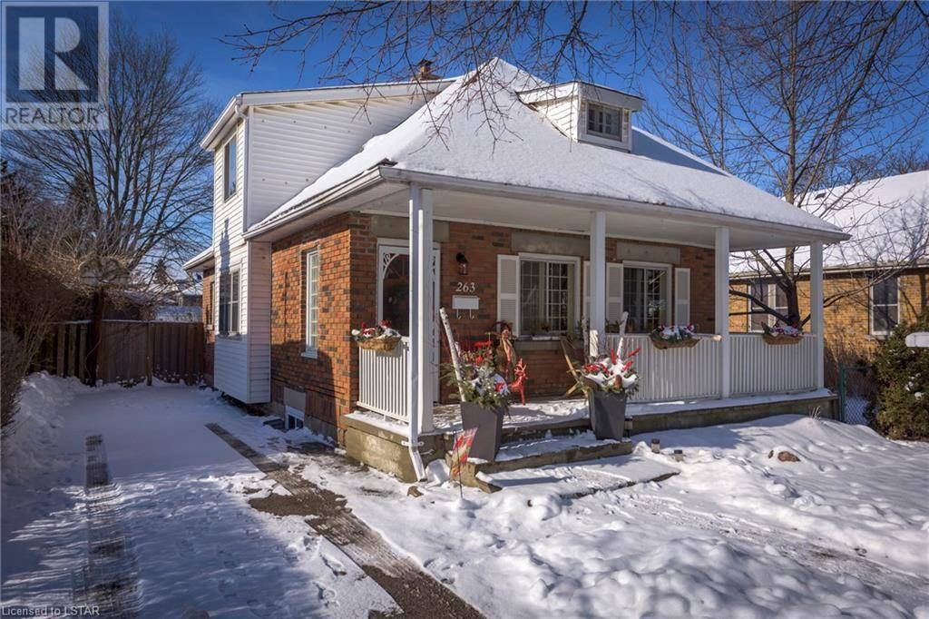 House for sale at 263 Edward St London Ontario - MLS: 240919