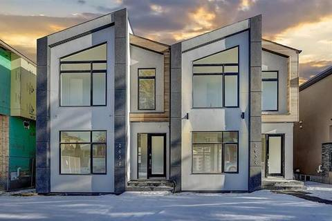 Townhouse for sale at 2632 25 St Southwest Calgary Alberta - MLS: C4239268