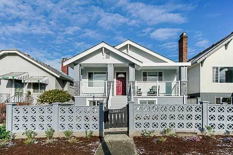 House for sale at 2645 Triumph St Vancouver British Columbia - MLS: R2350236