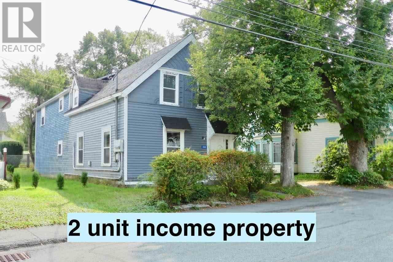 Townhouse for sale at 265 Church St Liverpool Nova Scotia - MLS: 202019462
