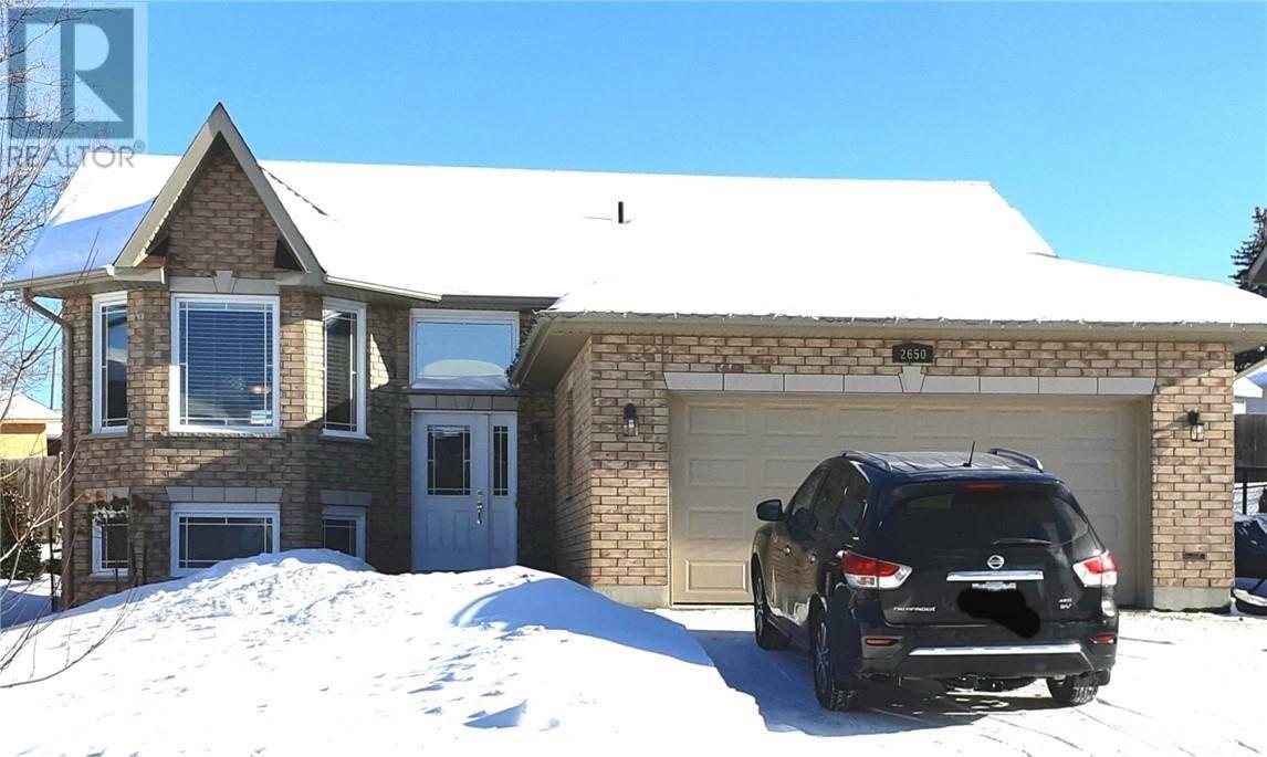 House for sale at 2650 Hummingbird Ct Greater Sudbury Ontario - MLS: 2084133