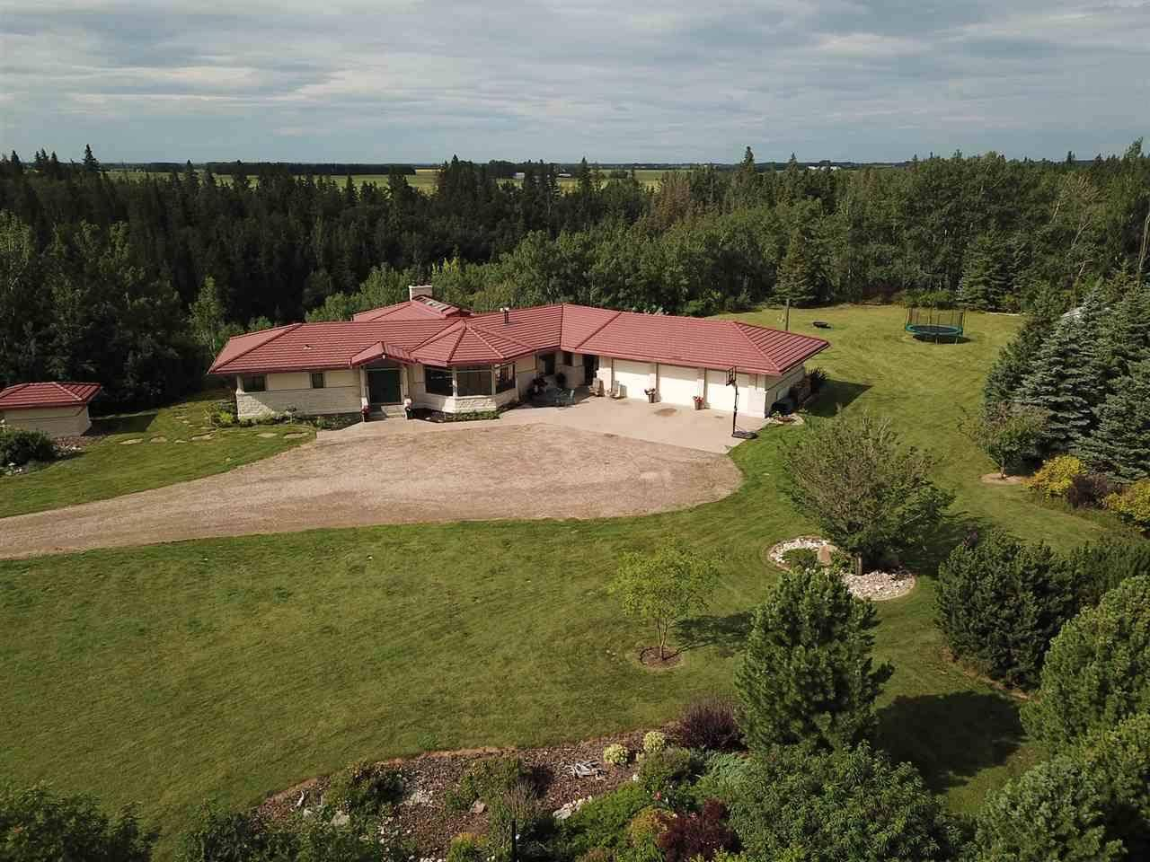 House for sale at 26541 Twp  Rural Leduc County Alberta - MLS: E4168898