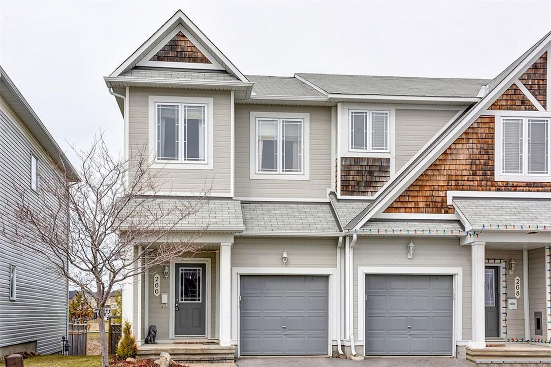 For Sale: 266 Catamount Court, Ottawa, ON | 3 Bed, 3 Bath Townhouse for $349,900. See 28 photos!