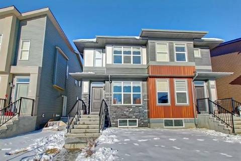 Townhouse for sale at 266 Cornerstone Ave Northeast Calgary Alberta - MLS: C4285219