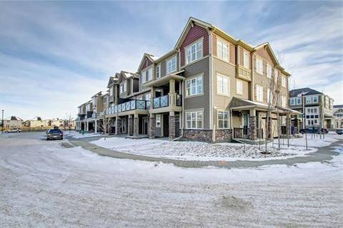 Townhouse for sale at 266 Hillcrest Sq Southwest Airdrie Alberta - MLS: C4219668