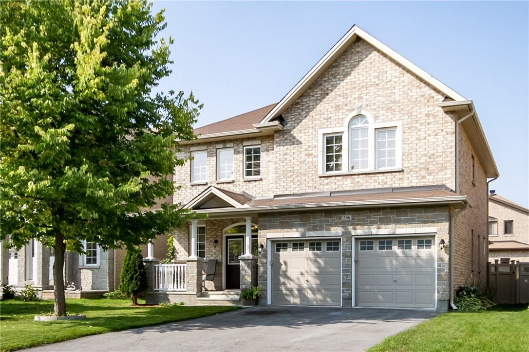 For Sale: 266 Madhu Crescent, Ottawa, ON | 4 Bed, 4 Bath House for $869,900. See 28 photos!