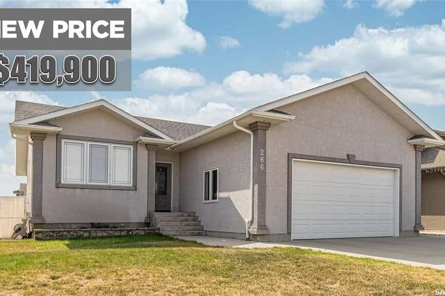 House for sale at 266 Wood Lily Dr Moose Jaw Saskatchewan - MLS: SK817060