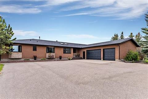 House for sale at 266091 24 St West Rural Foothills County Alberta - MLS: C4261117