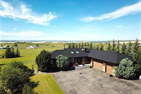 House for sale at 266123 24 St West Rural Foothills County Alberta - MLS: C4265358