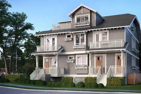 Townhouse for sale at 2667 Horley St Vancouver British Columbia - MLS: R2363409