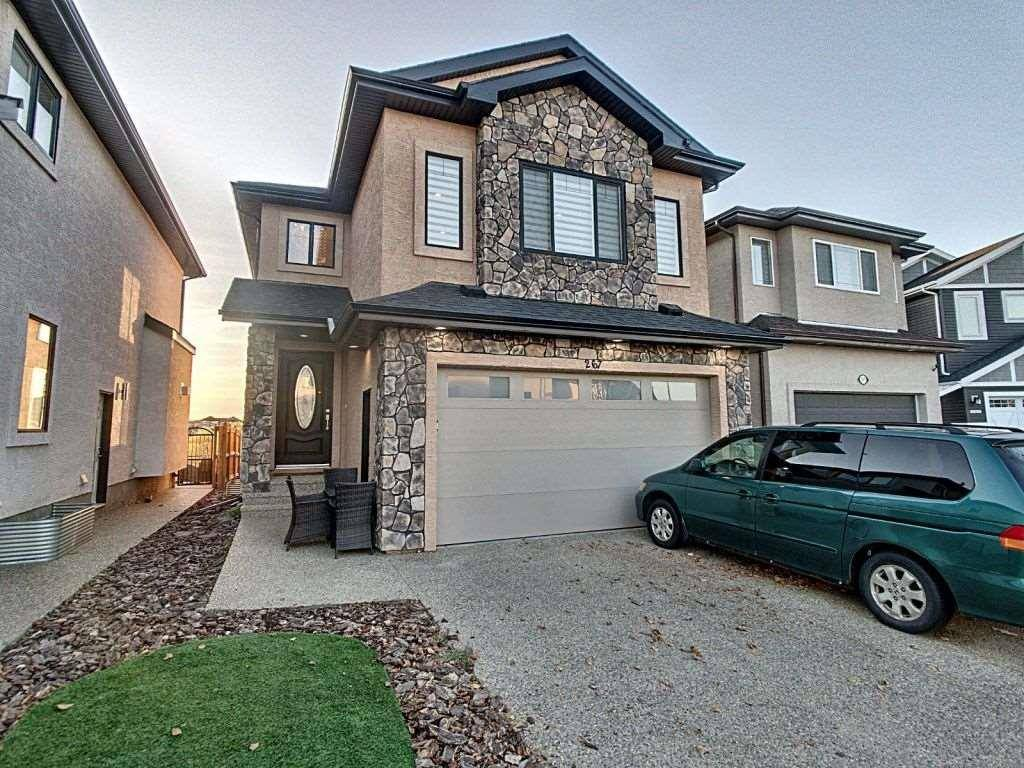 House for sale at 267 Albany Dr Nw Edmonton Alberta - MLS: E4188427