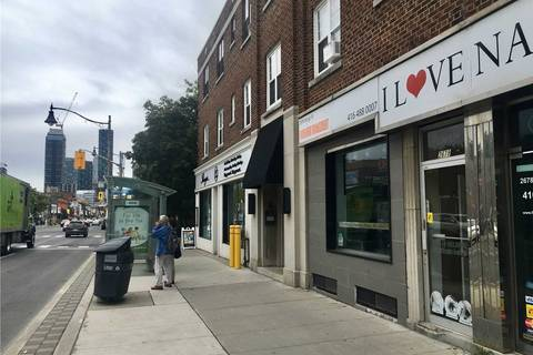 Commercial property for lease at 2678 Yonge St Toronto Ontario - MLS: C4607803