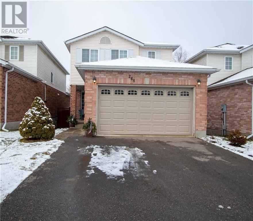 House for sale at 268 Bankside Dr Kitchener Ontario - MLS: 30785339
