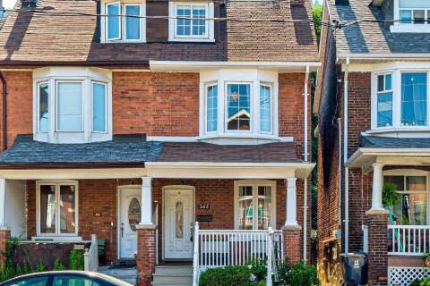 Townhouse for sale at 268 Greenwood Ave Toronto Ontario - MLS: E4821727