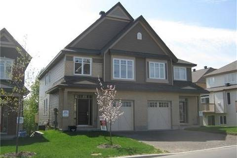 Townhouse for rent at 268 Meadowlilly Rd Ottawa Ontario - MLS: X4613817