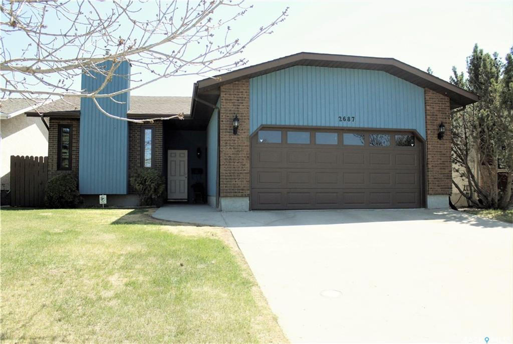 For Sale: 2687 Crocus Drive East, Regina, SK | 4 Bed, 3 Bath House for $439,900. See 28 photos!