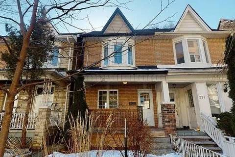 Townhouse for sale at 269 Lappin Ave Toronto Ontario - MLS: W4700558