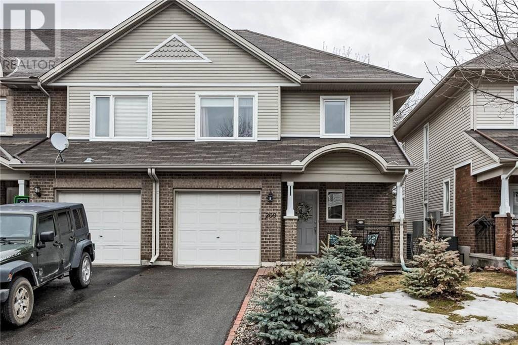 Townhouse for sale at 269 Parkin Circ Ottawa Ontario - MLS: 1187838
