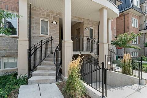 Condo for sale at 2420 Baronwood Dr Unit 27-02 Oakville Ontario - MLS: W4564599