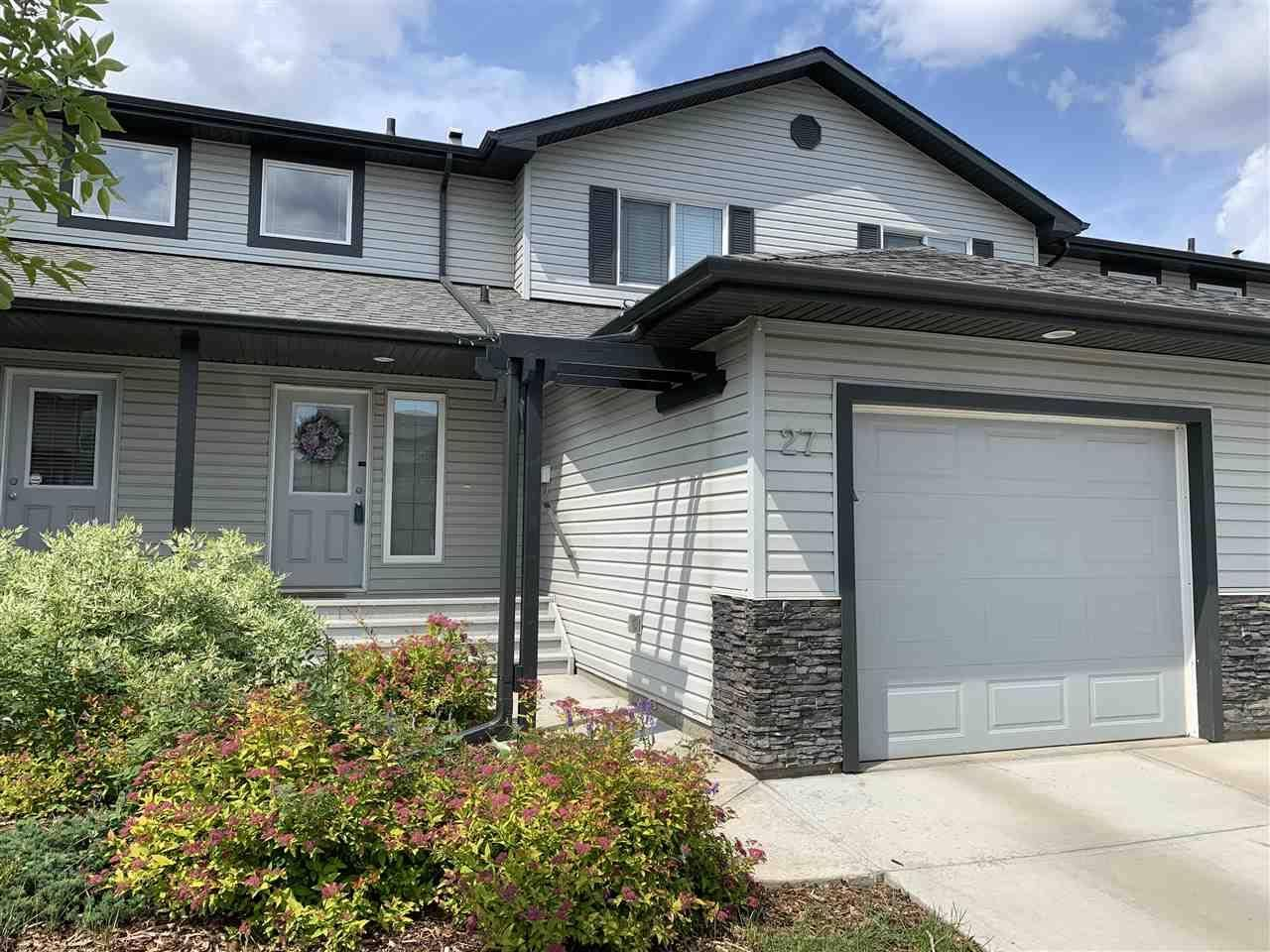 Townhouse for sale at 13838 166 Ave Nw Unit 27 Edmonton Alberta - MLS: E4164439