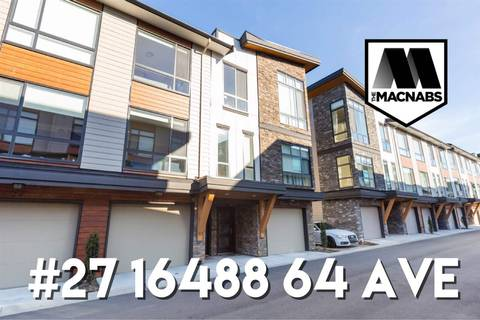 Townhouse for sale at 16488 64 Ave Unit 27 Surrey British Columbia - MLS: R2350916