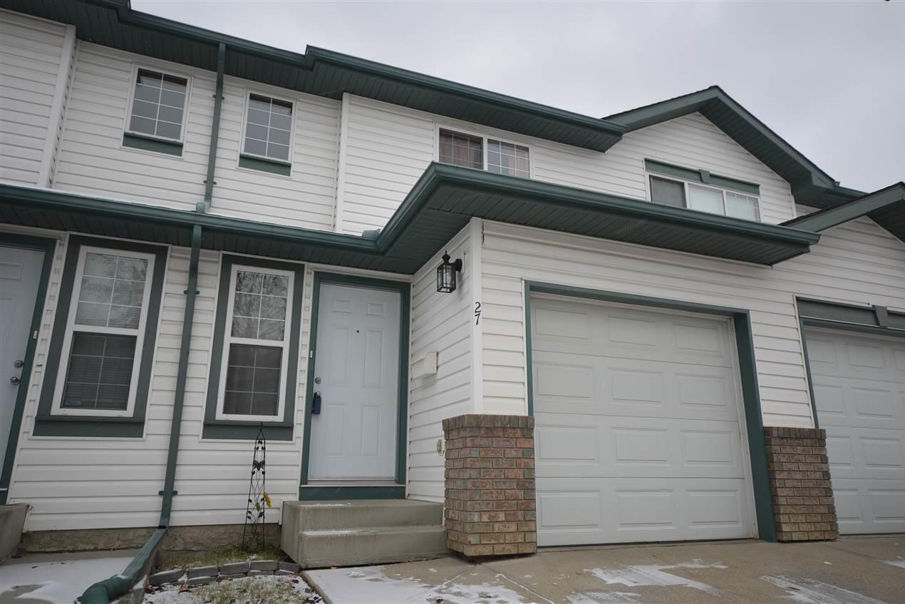 Townhouse for sale at 16823 84 St NW Unit 27 Edmonton Alberta - MLS: E4218903