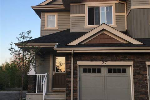 Townhouse for sale at 2004 Trumpeter Wy Nw Unit 27 Edmonton Alberta - MLS: E4151994