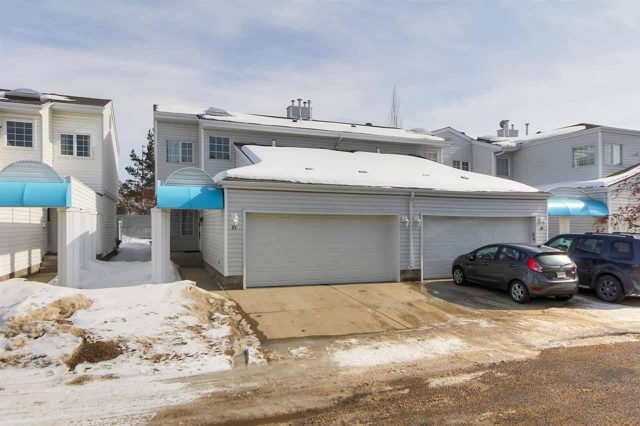 Townhouse for sale at 2911 36 St Nw Unit 27 Edmonton Alberta - MLS: E4191962
